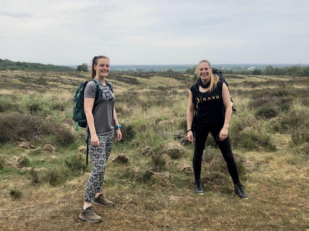 wandeling voor avontuurlijke vrouwen