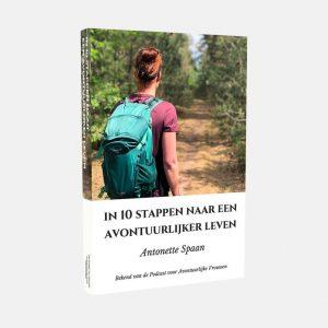 E-boek in 10 stappen naar een avontuurlijker leven